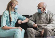 Infirmier et son patient