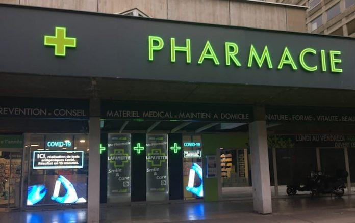 test antigénique covid pharmacie