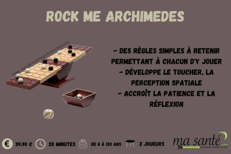 Rock Me Archimedes - Ma Santé