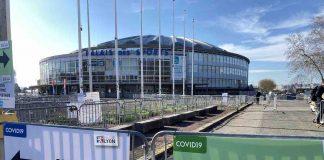 palais des sport lyon gerland centre vaccination covid