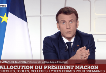Emmanuel Macron annonce la fermeture des écoles le 31 mars 2021.