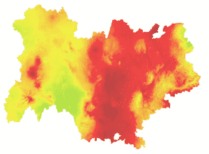 ATMO : carte régionale
