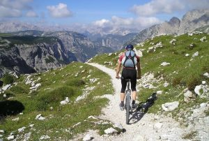 Les bienfaits du vélo en montagne.