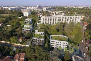 Projet de requalification de la clinique mutualiste de Lyon Trarieux.