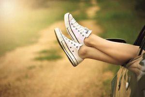Combattre la sensation des jambes lourdes.