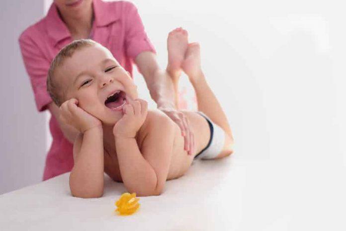 Bienfaits de l'ostéopathie pour les bébés.